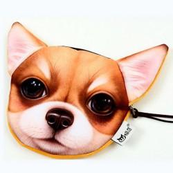 Porte-monnaie  chien chiwawa