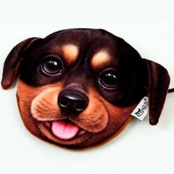 Porte-monnaie  chien noir...